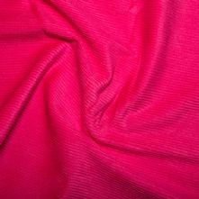 Pink Cotton Corduroy Fabric